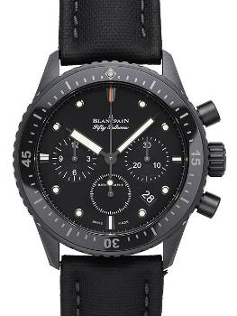 Blancpain Sport Automatique Fifty Fathoms Bathyscaphe Chronograph Flyback in der Version 5200-0130-B52A