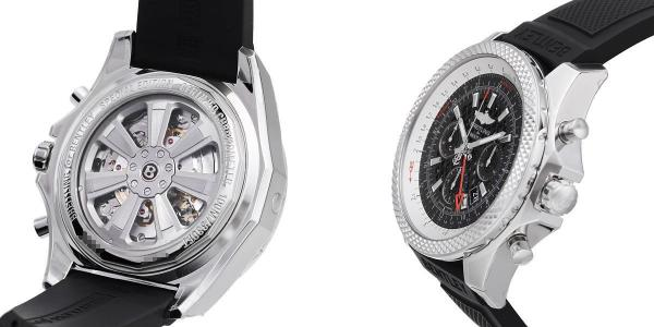 Breitling for Bentley B04 GMT in der Version AB043112BC69220SA20D2