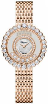 Chopard Happy Diamonds Icons Round in der Version 204180-5201 in 18 K Rosegold