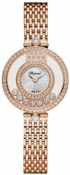 Chopard Happy Diamonds Icons Round in der Version 209408-5001 in 18K Rosegold