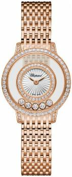 Chopard Happy Diamonds Icons Round in der Version 209411-5001 in 18K Rosegold