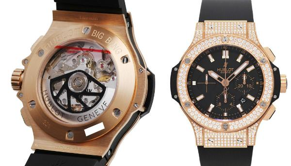 Hublot Big Bang Evolution in der Version 301PX1180RX1704 in 18K Rosegold
