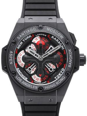 Hublot King Power 48mm UNICO GMT Keramik