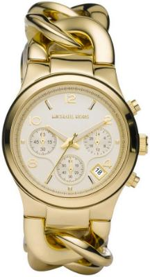 Michael Kors Luxus-Chronograph fuer Damen Runway Twist