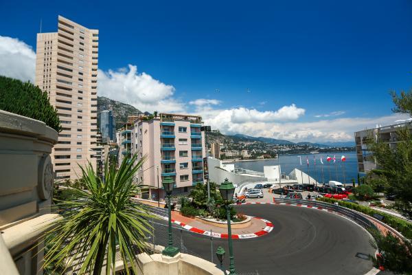 Die Formel 1 Rennstrecke von Monaco