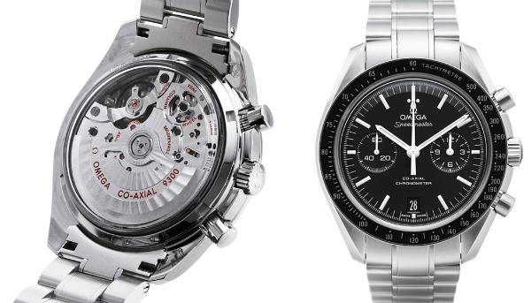 Omega Speedmaster Moonwatch Co-Axial Chronograph in der Version 31130445101002