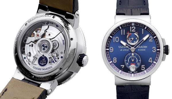 Marine Chronometer Manufacture von Ulysse Nardin 43mm