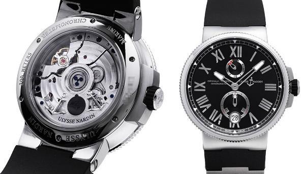 Marine Chronometer Manufacture von Ulysse Nardin 45mm