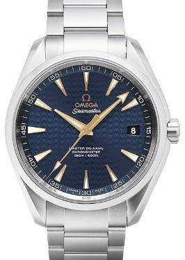 Omega Seamaster Aqua Terra 150M Master Co-Axial 41,5mm Zifferblatt blau