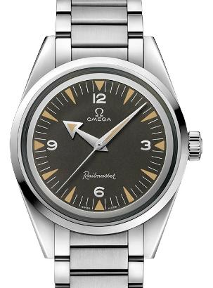 Omega Seamaster Railmaster Co-Axial Master Chronometer 38mm 1957 Trilogy