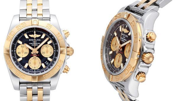 Breitling Chronomat 41 in der Version CB014012BA53378C in Edelstahl und 18K Rosegold