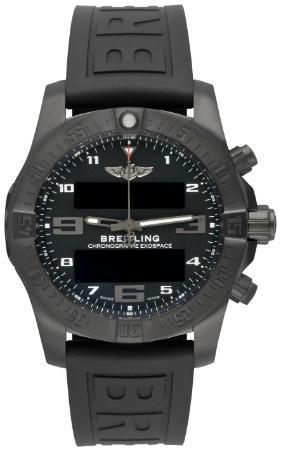 Breitling Exospace B55 Connected Herrenuhr Kautschuk schwarz Titan