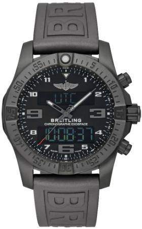 Breitling Exospace B55 Connected Herrenuhr Kautschuk schwarz beschichtet