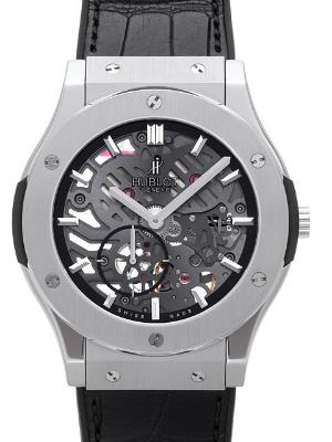 Hublot Classic Fusion 45mm Classico Ultra-Thin Skeleton Limited Edition Herrenuhr in der Version 515NX0170LR