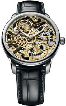 Maurice Lacroix Masterpiece Squelette Tradition in der Version MP7208-SS001-001 in Edelstahl