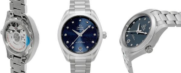 Omega Seamaster Aqua Terra Blau