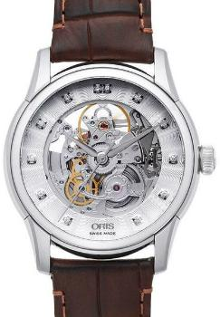 Oris Artelier Skeleton in der Version 01 734 7670 4019-07 1 21 73FC