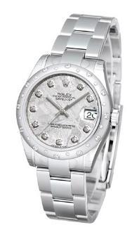 Rolex Datejust 31 Damenuhr Edelstahl 18kt Weissgold