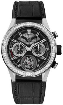 Tag Heuer Carrera Calibre HEUER 02 T Automatik Chronograph 45mm in der Version CAR5A81FC6377