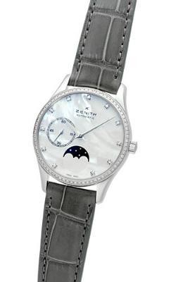 Zenith Elite Ultra Thin Lady Moonphase Damenuhr in der Version 16231069281C706
