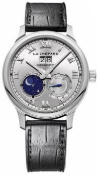 LUC Lunar Big Date in der Version 161969-1001 18K Weissgold