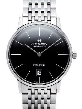 Hamilton American Classic Timeless Classic Intra-Matic in der Version H38455131 in Edelstahl