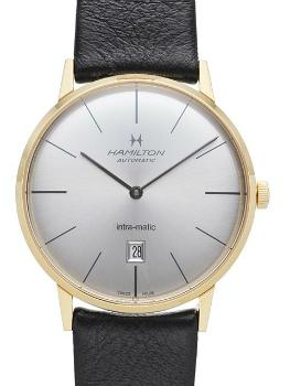 Hamilton American Classic Timeless Classic Intra-Matic in der Version H38735751 in Edelstahl mit PVD-Beschichtung