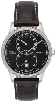 UNION Glashuette 1893 Regulator mit Datum und kleiner Sekunde in der Version D007-445-16-053-00