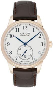 UNION Glashuette 1893 mit Datum und kleiner Sekunde in der Version D903-428-76-013-00