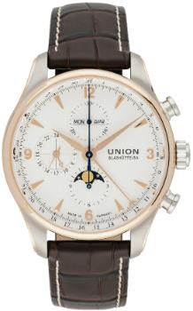 Union Glashuette Belisar Chronograph Mondphase in der Version D904-425-46-017-01