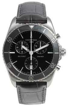 Certina Quarz DS First Ceramic Chronograph C0144171605100