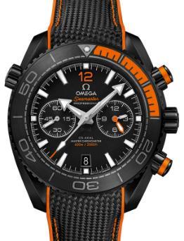 Omega Seamaster Planet Ocean 600 M Co-Axial Master Chronometer Chronograph 45,5mm Deep Black Orange