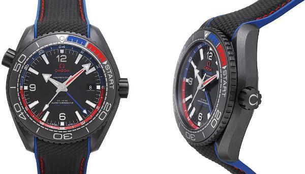 Omega Seamaster Planet Ocean 600 M Co-Axial Master Chronometer GMT 45,5mm ETNZ Deep Black