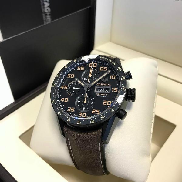 brand new tagheuer calibre16 chronograph