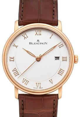 Blancpain Villeret Ultraflach in der Version 6651-3642-55B