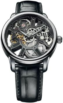 Maurice Lacroix Masterpiece Squelette in der Version MP7228-SS001-000-1 in Edelstahl