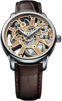 Maurice Lacroix Masterpiece Squelette in der Version MP7228-SS001-001-2 in Edelstahl
