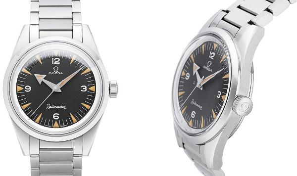 Omega Seamaster Railmaster Co-Axial Master Chronometer 38mm 1957 Trilogy in der Version 22010382001002