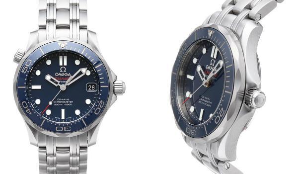 Omega Seamaster 300 M Chronometer blau 21230362003001