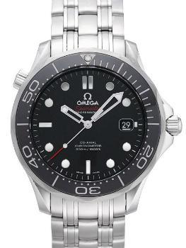 Omega Seamaster 300 M Chronometer schwarz