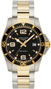longines-hydroconquest-quartz-41mm-gelb-beschichtet-vergoldet