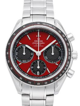 Omega Speedmaster Racing rot