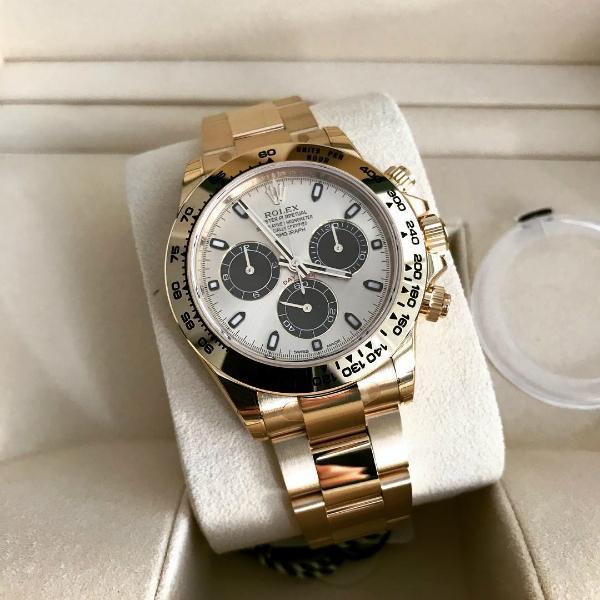 Rolex Daytona New Champagne Black dial