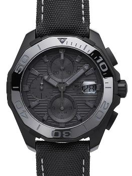 Tag Heuer Aquaracer 300M Calibre 16 Automatik Chronograph 43mm Black Phantom