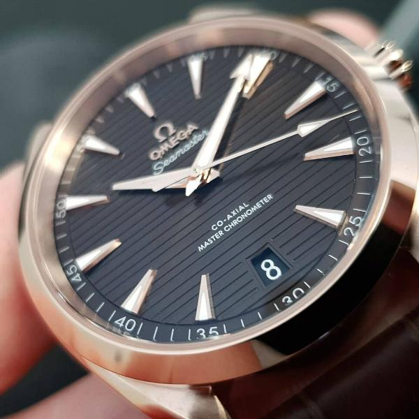 Co-Axial Master Chronometer in the pink gold Omega Seamaster 41mm