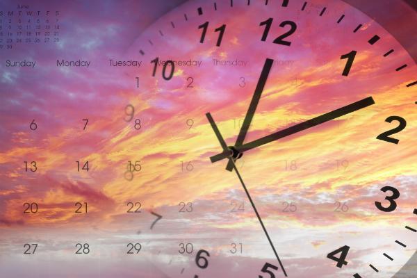 Die Erfindung der Zeit