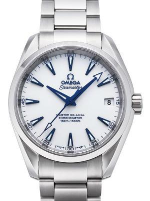 Omega Seamaster Aqua Terra Midsize Chronometer Good Planet Herrenuhr