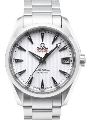 Omega Seamaster Aqua Terra Midsize Chronometer Herrenuhr