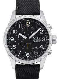 Oris Big Crown ProPilot Chronograph Herrenuhr Textil schwarz