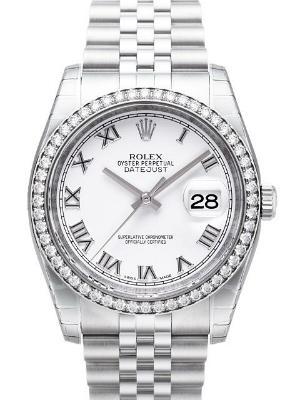 Rolex Datejust 36 Damenuhr Herrenuhr Brillantbesatz